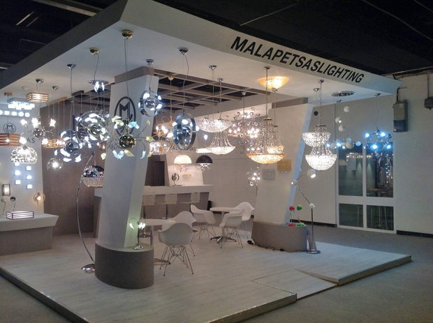 Malapetsas Lighting in Light + Building 2014, Frankfurt